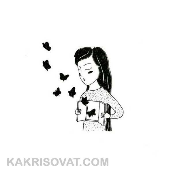 Легкие черно белые картинки для срисовки (21)