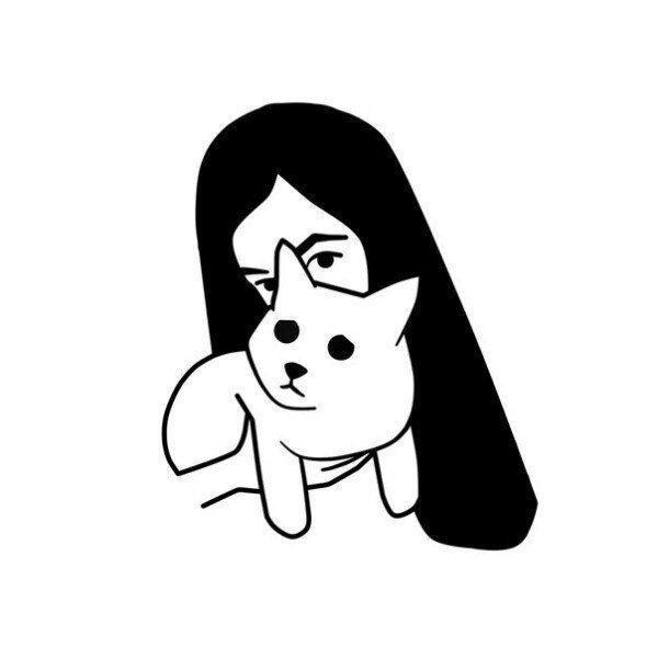 Легкие черно белые картинки для срисовки (23)