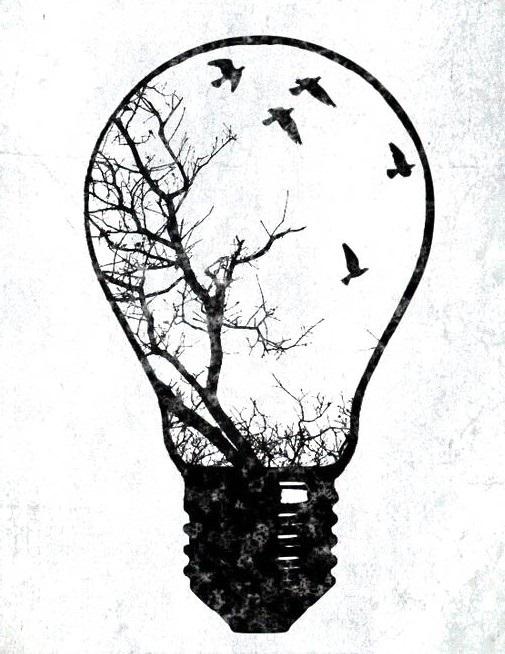 Легкие черно белые картинки для срисовки (7)