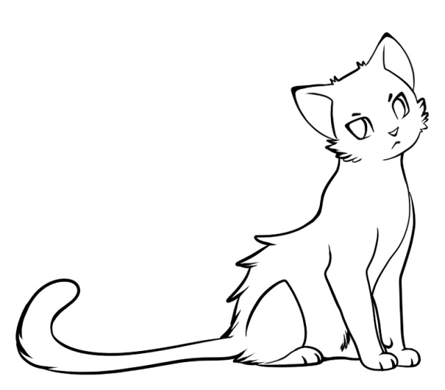 Лучшие картинки для срисовки кошки (7)