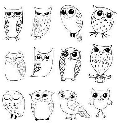Лучшие картинки для срисовки сова (4)