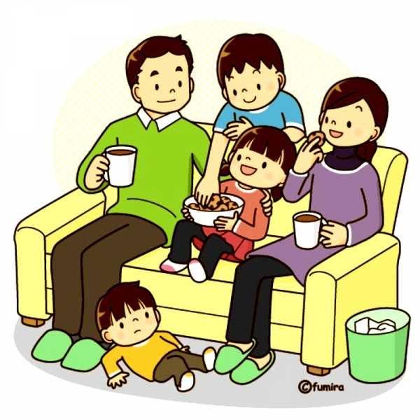 Лучшие картинки семья на диване (17)