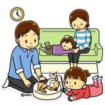 Лучшие картинки семья на диване