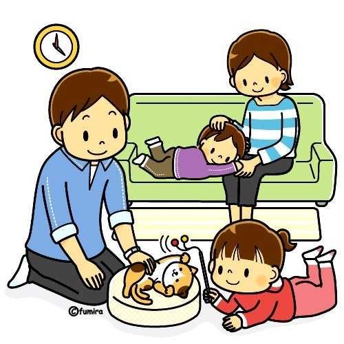 Лучшие картинки семья на диване (3)