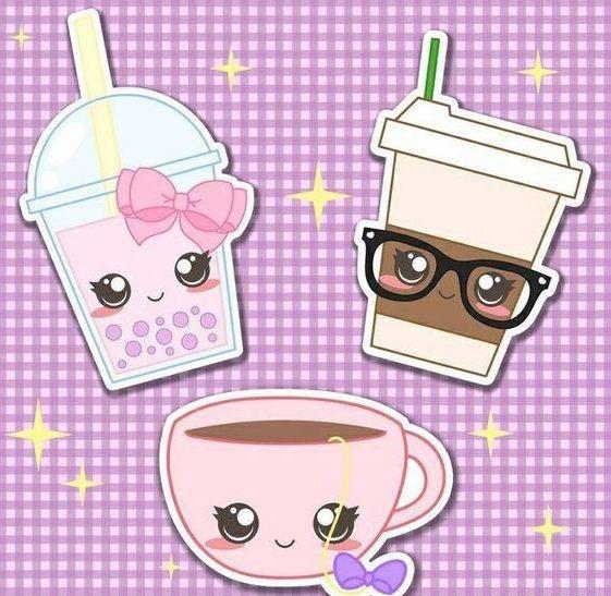 Милые картинки кавайная еда (10)