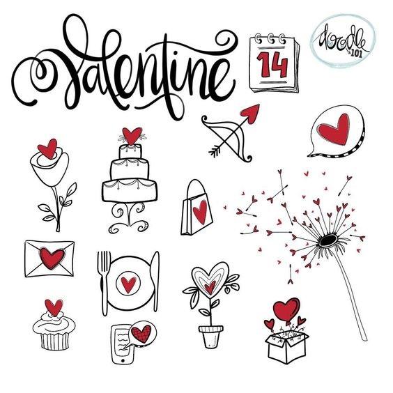 Милые рисунки для срисовки в личный дневник (11)