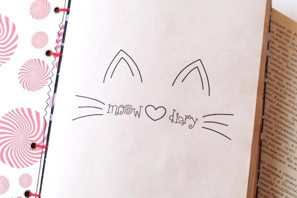 Милые рисунки для срисовки в личный дневник (14)