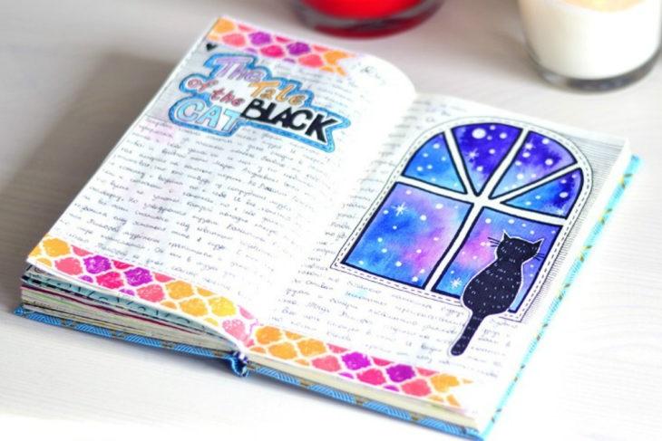 Милые рисунки для срисовки в личный дневник (9)