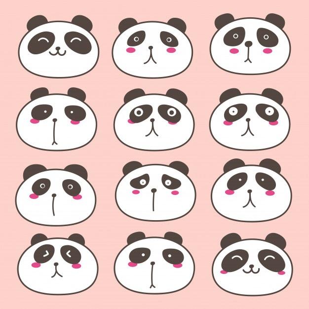 Нарисованные картинки панды (13)