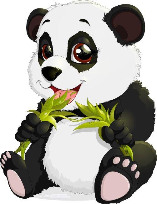 Нарисованные картинки панды (20)