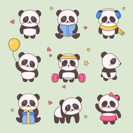 Нарисованные картинки панды (21)