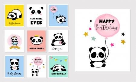 Нарисованные картинки панды (6)