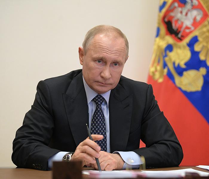 Президент Владимир Путин ослабил «нерабочий» период России