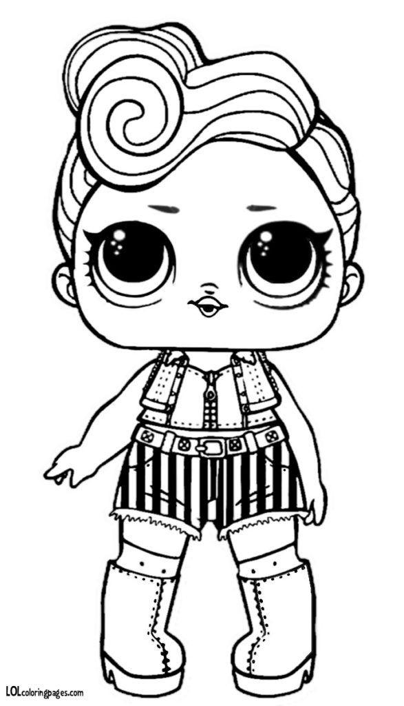 Распечатки для кукол черно-белые (1)