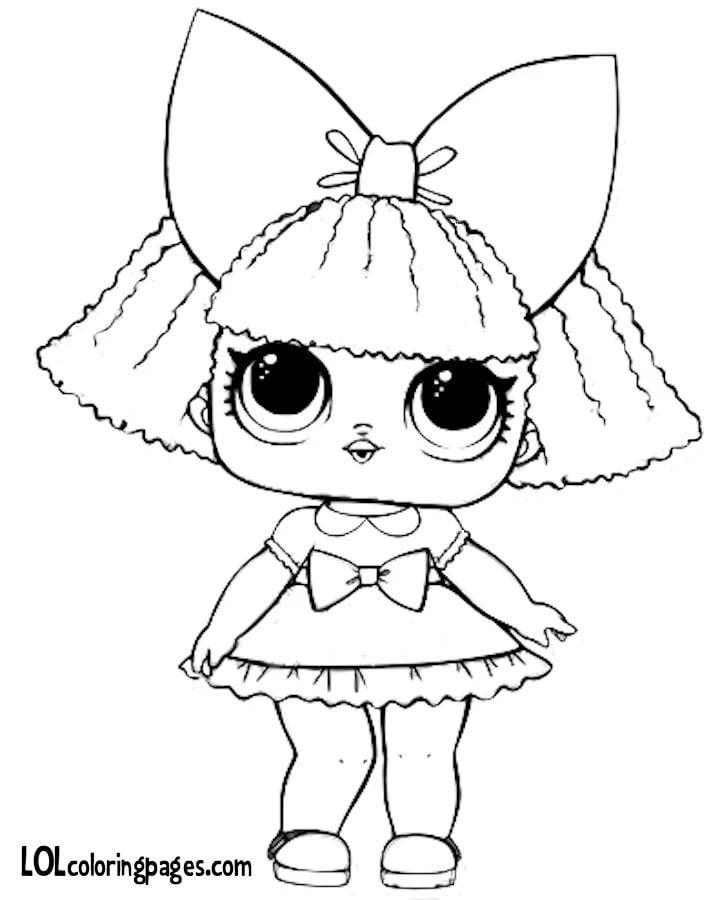 Распечатки для кукол черно-белые (11)