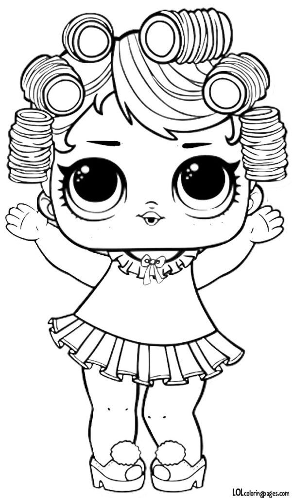Распечатки для кукол черно-белые (17)
