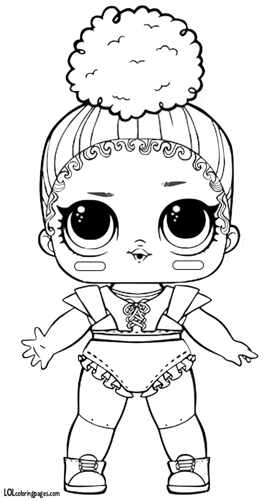 Распечатки для кукол черно-белые (2)