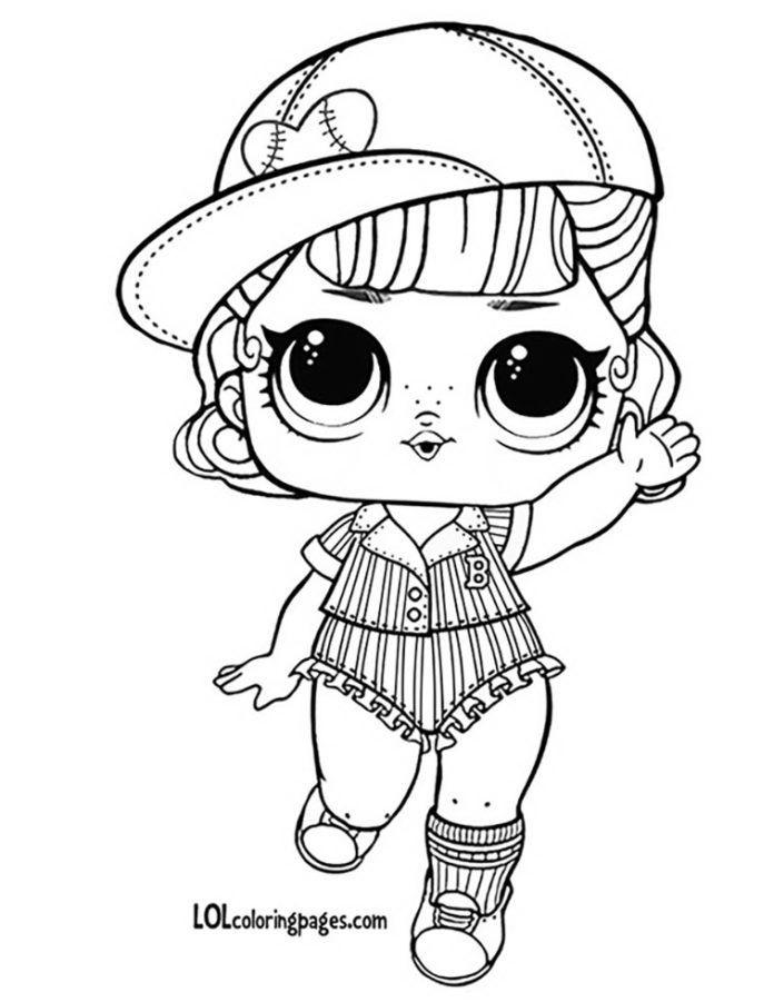 Распечатки для кукол черно-белые (3)