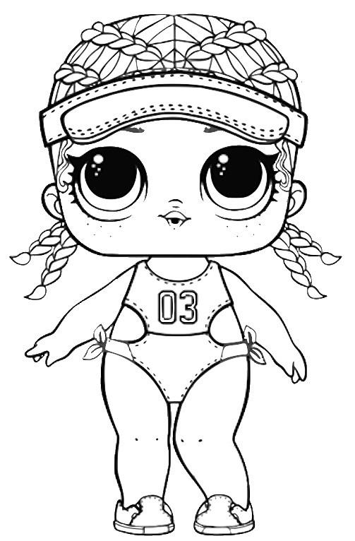 Распечатки для кукол черно-белые (5)