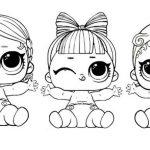 Распечатки для кукол черно-белые