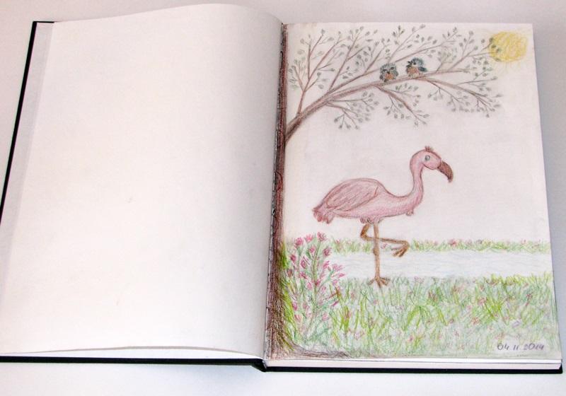 Рисунки для скетчбука цветными карандашами (14)