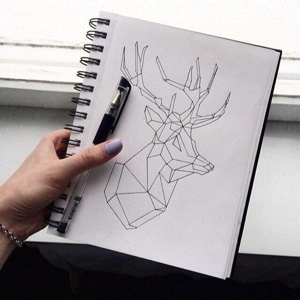 Рисунки для скетчбука цветными карандашами (18)