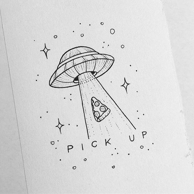 Рисунки для скетчбука цветными карандашами (20)