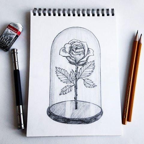 Рисунки для скетчбука цветными карандашами (6)