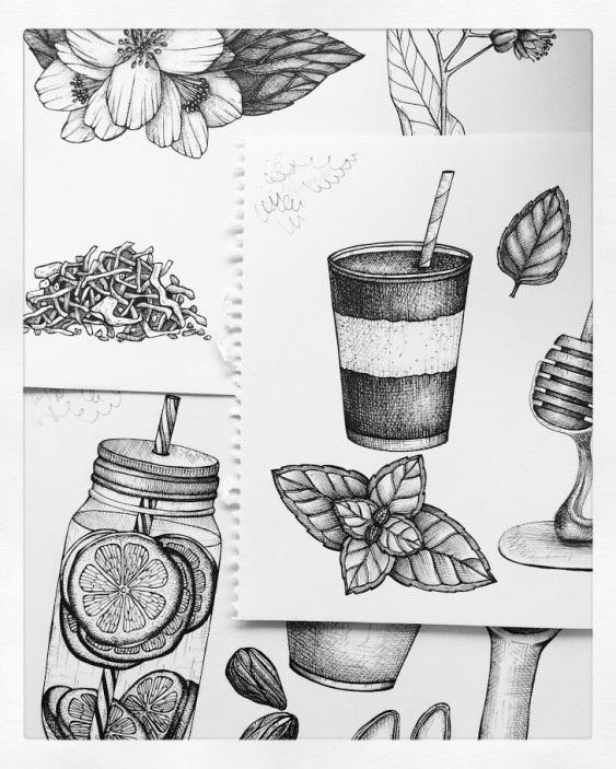 Рисунки для скетчбука цветными карандашами (7)