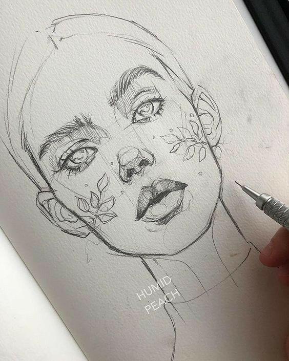 Рисунки для скетчбука цветными карандашами (9)