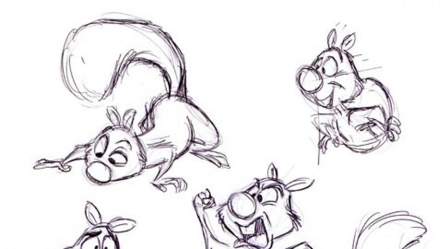 Рисунки карандашом милые животные - подборка (1)