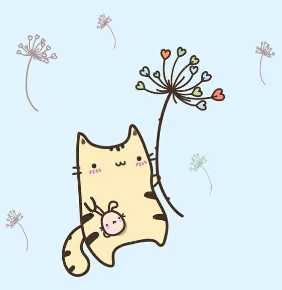 Рисунки карандашом милые животные - подборка (11)