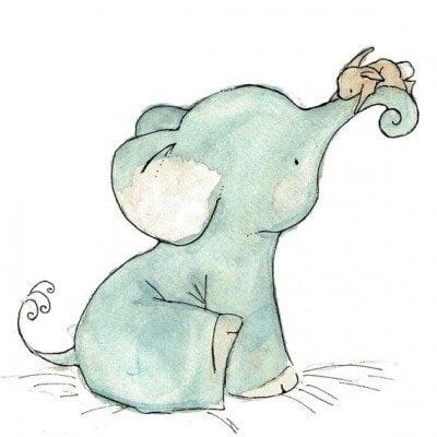 Рисунки карандашом милые животные - подборка (19)
