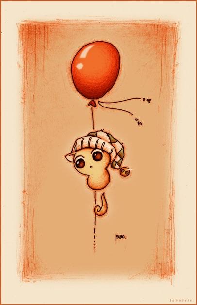 Рисунки карандашом милые животные - подборка (5)