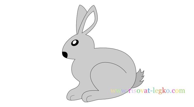 Рисунки кролики для детишек (21)
