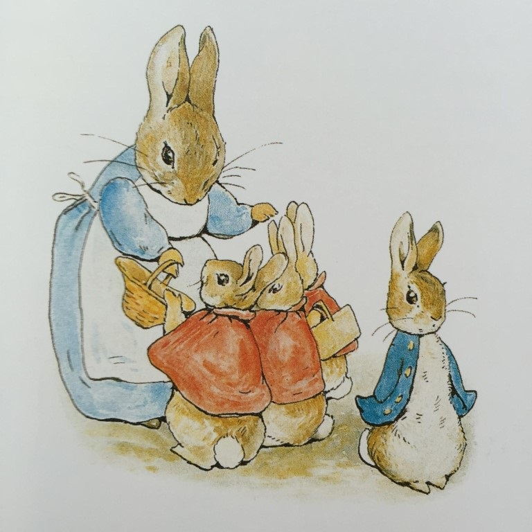 Рисунки кролики для детишек (24)