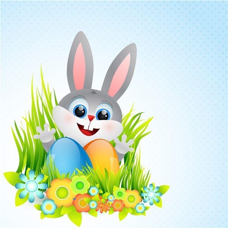 Рисунки кролики для детишек (27)