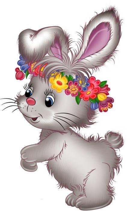Рисунки кролики для детишек (9)