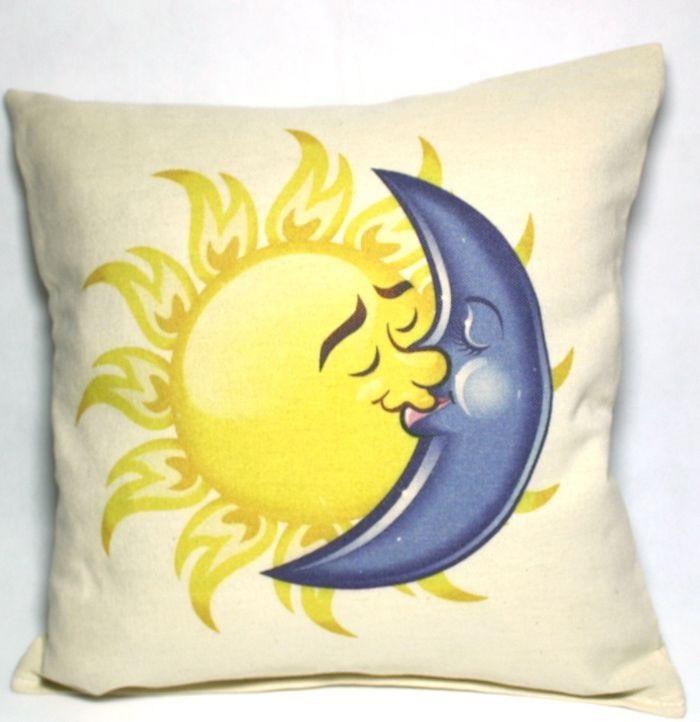 Солнце и луна рисунок (6)