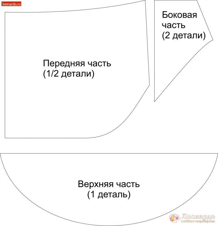 Сумка на пояс выкройка картинки (16)