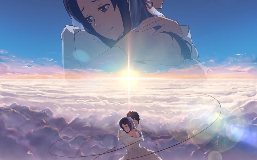 Твое Имя пейзажи из аниме (1)