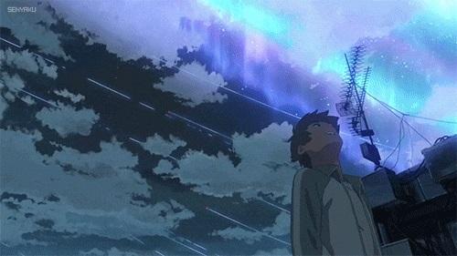 Твое Имя пейзажи из аниме (11)