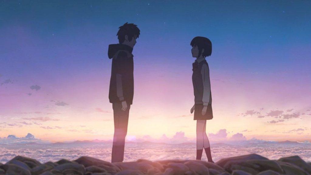 Твое Имя пейзажи из аниме (27)