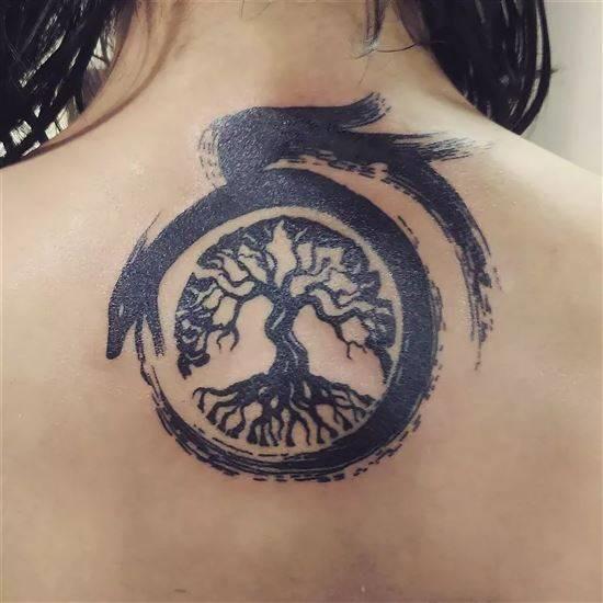 Уроборос татуировка фото (10)