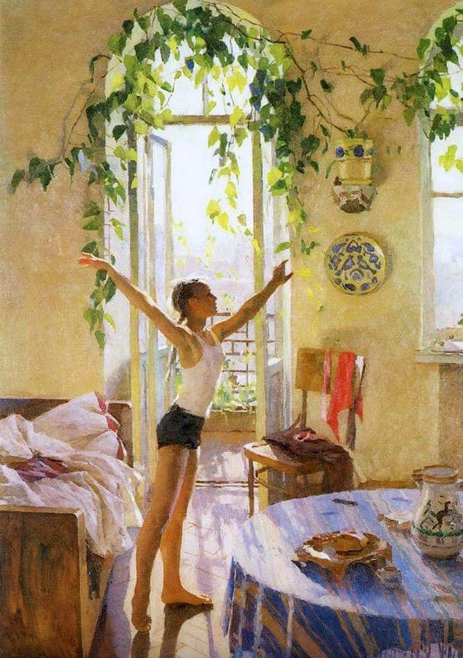 Утро картины художников (2)
