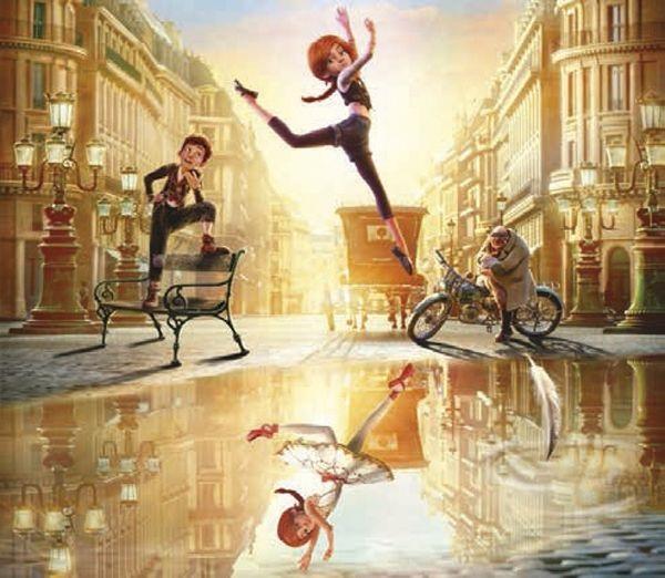 Фото балерина из мультика Балерина (2)