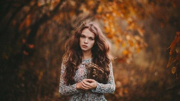 Фото в лесу осенью идеи (1)