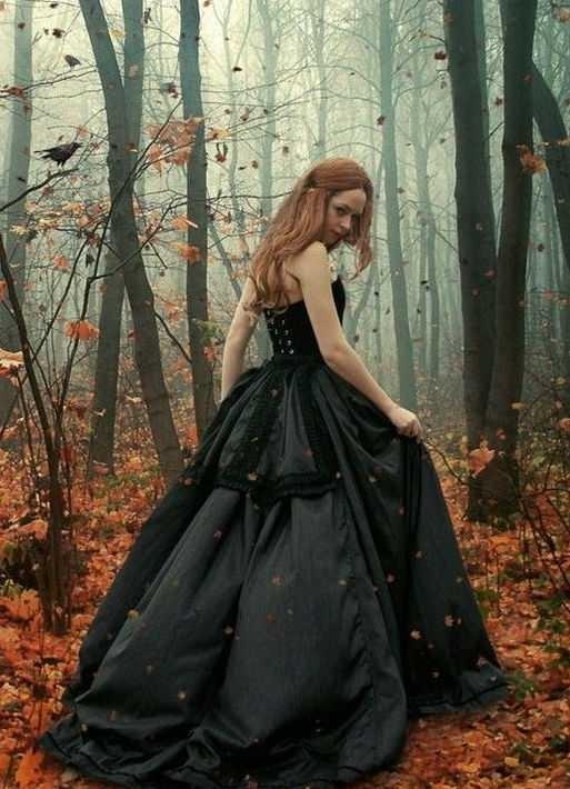 Фото в лесу осенью идеи (11)