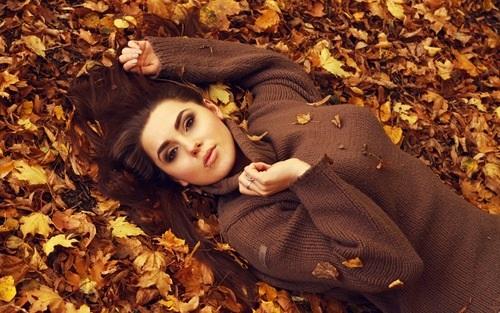 Фото в лесу осенью идеи (13)