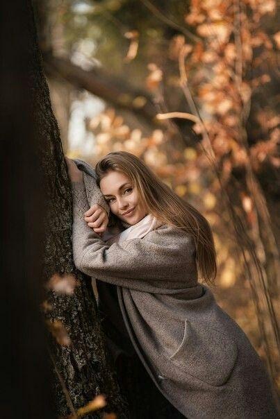 Фото в лесу осенью идеи (18)